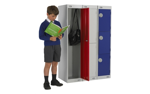 Link Primary Three Quarter Height School Lockers