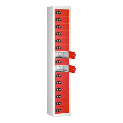 Tablet Charging Multi Door Multi Compartment Lockers