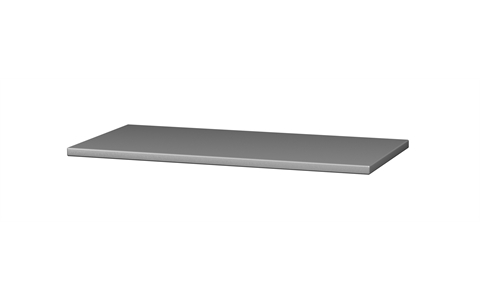 Additional hazardous cabinet shelf - Silver Grey - W915mm x D460mm